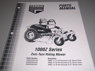 Ferris Zero Turn Mower Deck Spindle 44/'/' 48/'/' /& 52/'/'  IS500Z IS600Z IS1500Z