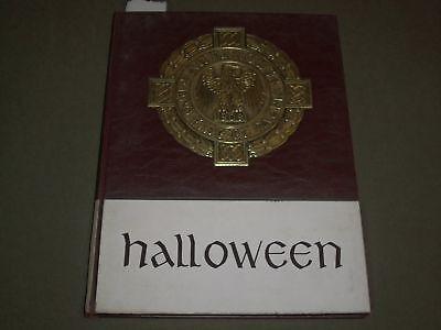 1964 HALLOWEEN ALL HALLOWS INSTITUTE YEARBOOK - BRONX, NEW YORK - YB - College University Halloween