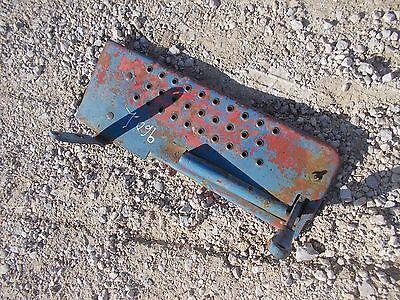 Ford 960 Tractor Original Left Foot Rest Platform Step Brackets