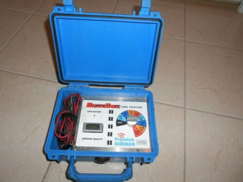 PROTOTEK BUZZBOX LINE EXCITER CABLE AND PIPE LOCATOR RADIODETECTION