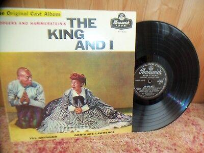 SOUNDTRACK - THE KING & I - RARE - 1953 - ORIGINAL CAST - SOUTH AFRICAN IMPORT
