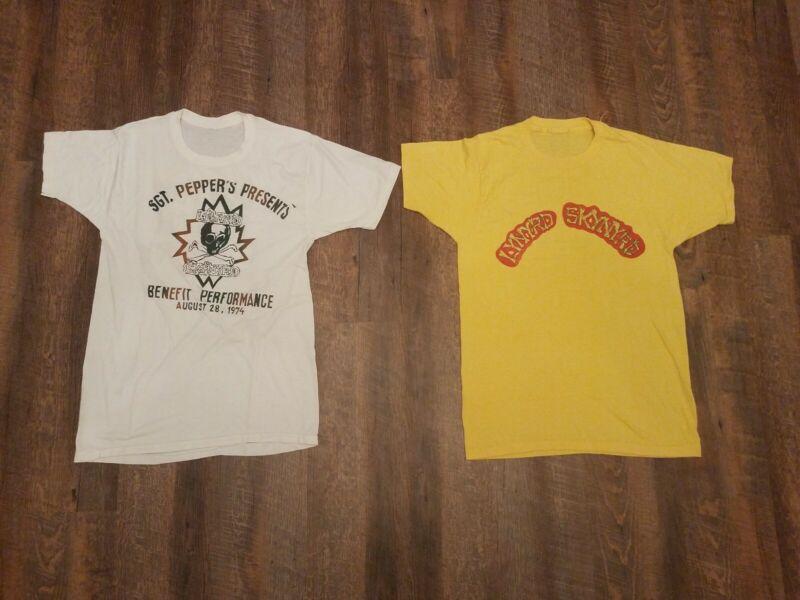 True Vintage Lynyrd Skynyrd Concert T-Shirts 1974 1975