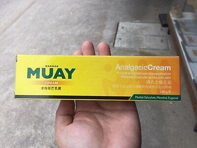 NAMMAN MUAY THAI BOXING CREAM MASSAGE MUSCULAR PAIN RELIEF 100g