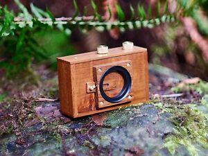 189040 Zero Image 2000 6x6 cm Pinhole Wood Camera Back to Nature Series #7524