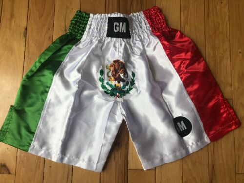 Mexico Flag Boxing, Training, Fitness, MMA, Martial Art Grappling Shorts Trunks