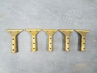 Master Brass Squeegee - 5 STECCONE MASTER Brass Squeegee Window Cleaner Part No Squeegee Neat Lot