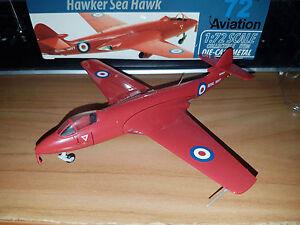 Hawker Sea Hawk Red Devils Team 1957 - Scala 1:72 Die Cast - 72 Aviation - Nuovo - Italia - L'oggetto può essere restituito - Italia