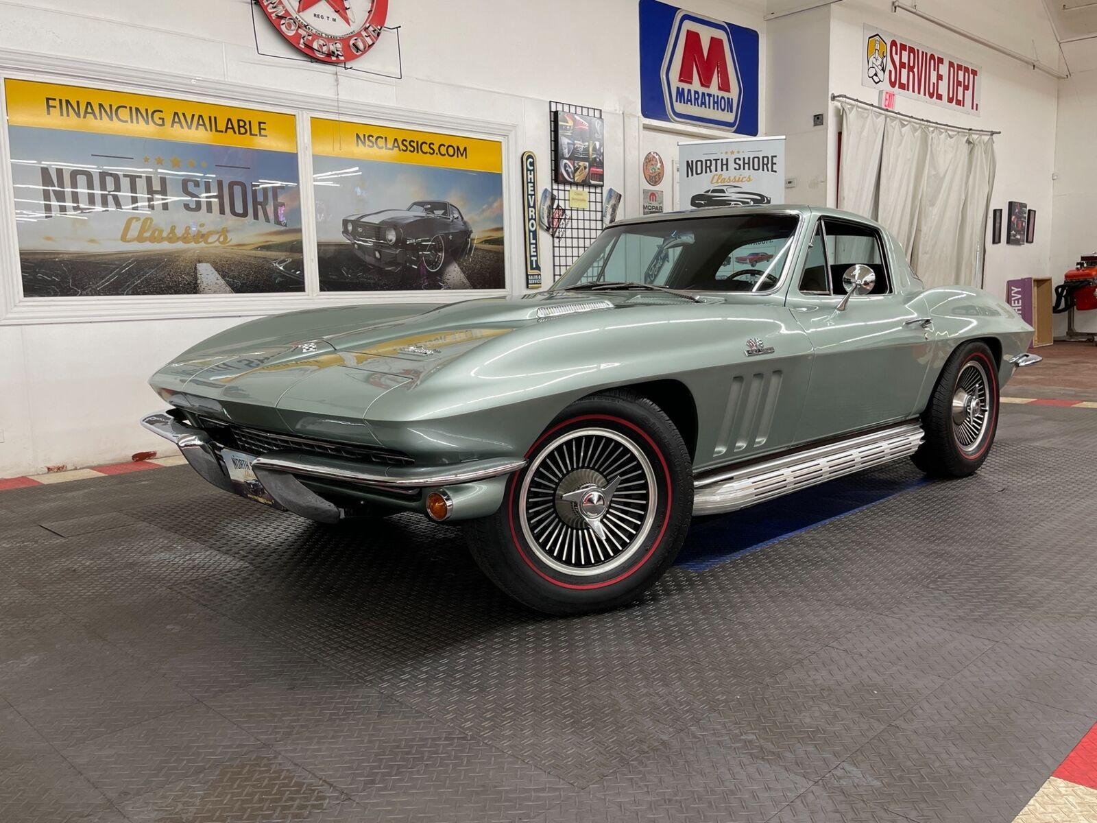 1966 Green Chevrolet Corvette Coupe  | C2 Corvette Photo 2
