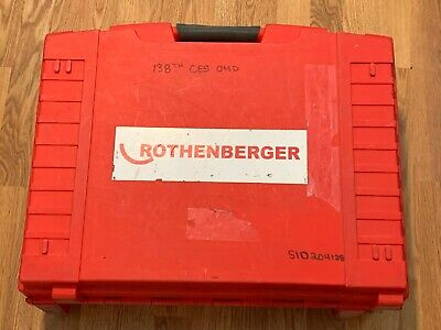 Rothenberger 16101 Ropress Cordless Press Tool Package With 6 Jaws Extra Batt.