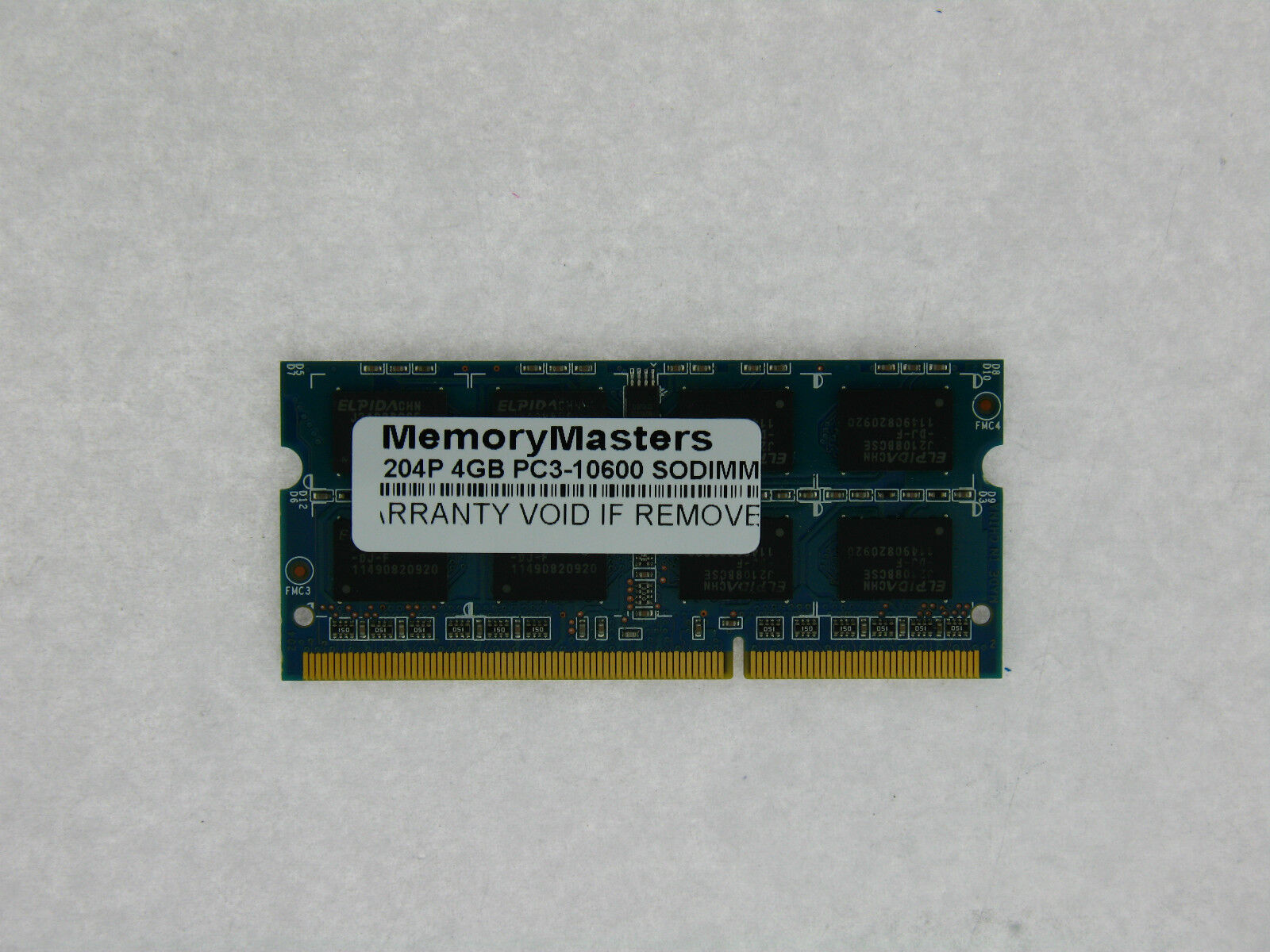 Memory Ram 4 Hp TouchSmart Laptop tm2-1007tx tm2-1008tx tm2-1010ea 2x Lot