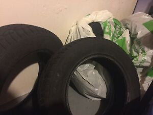 EXCELLENT GOODYEAR WINTER TIRES  London Ontario image 3