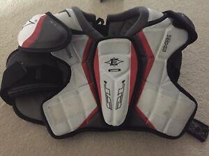 Hockey shoulder pads size junior Large