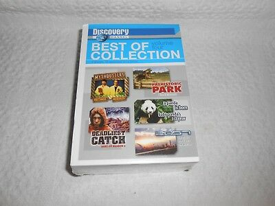 Dvd  Discovery Channel   Best Of Collection Volume Four  5 Dvd Set      Sealed