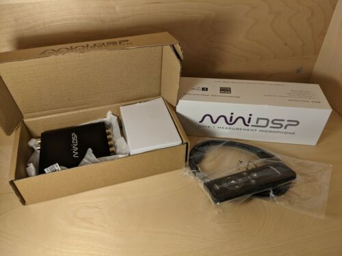 MiniDSP 2X4 HD and UMIK-1 Measurement Microphone w/ Remote!