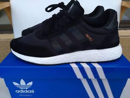 Adidas Iniki Shoes Core Black US10.5