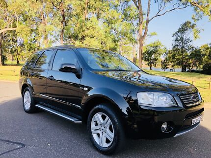 2006 Ford Territory Wagon GHIA SY AWD 7Seats Low Kms Black Moorebank Liverpool Area Preview