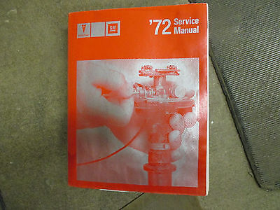 1972 Pontiac car auto with engine transmission electrical repair manual