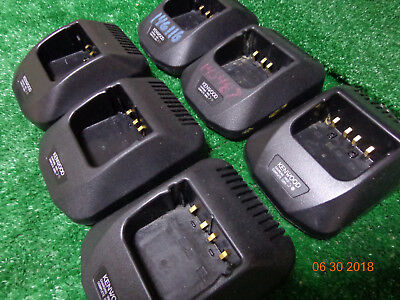 Kenwood Tk-280 Tk-480 Tk-380 Oem Rapid Desk Top Charger Pocket Ksc-2420 Lot 6