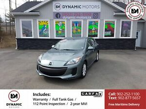 2012 Mazda 3 GS-SKY AUTO! CLEAN! OWN FOR $119 B/W, 0 DOWN, OAC