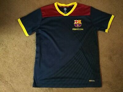 7afb0c416 FCB Barcelona FCBarcelona Size Medium M Futbol Soccer Jersey Polyester Rare