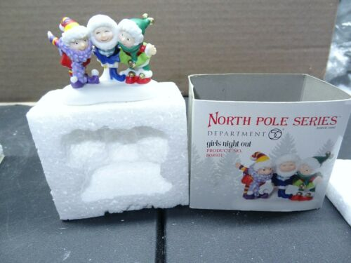 DEPT 56 - North Pole - GIRLS NIGHT OUT - #808931 - RARE