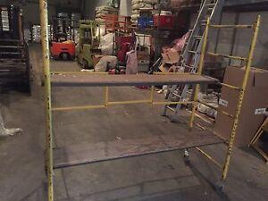 Baker scaffold 6 ft.high x 6 ft.long