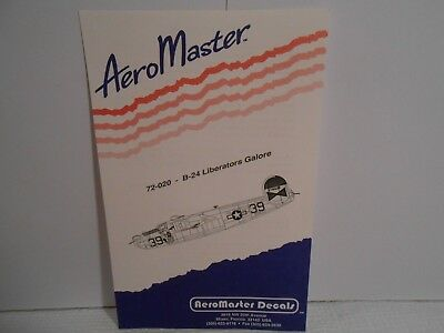 Aero Master Model Decals 72-020 B-24 Liberators Galore