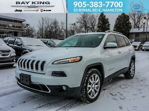 2018 Jeep Cherokee FWD, BACK UP CAM, LEATHER HEATED SEATS, REMOT