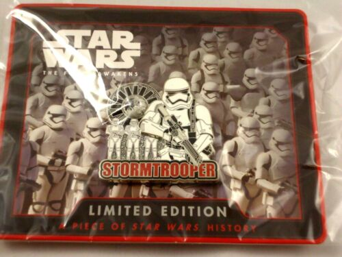 Star Wars Celebration 2017 Orlando Disney excl First Order Stormtrooper pin