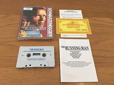 The Running Man - Commodore 64 / 128 Cassette Tape Game