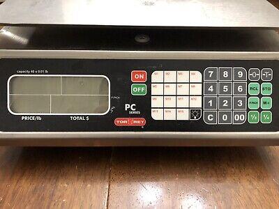 Torrey Pc-40lx 40x0.01lb Price Computing Scale