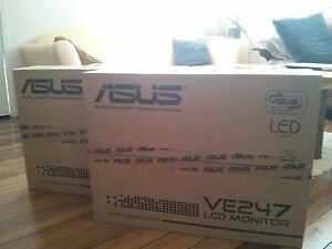 2 x HDMI ASUS 23.6 inch monitors Moorooka Brisbane South West Preview