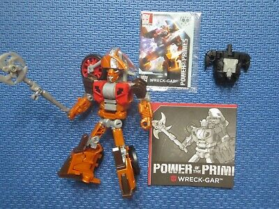 Transformers Generations Wreck-Gar Power of the Primes Deluxe Class Walgreens