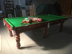Billiard table for sale Kew East Boroondara Area Preview