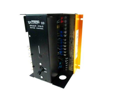 NEW EXTRON 112-301 SNAP-PAC MOTOR CONTROL 112301