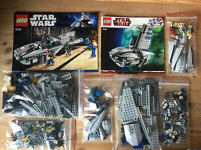 LEGO StarWars Cad Bane's Speeder (8128) + Separatist Shuttle (8036)