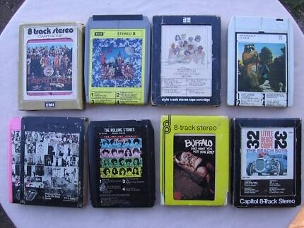Huge 8-track tape collection, 1970's. Strathpine Pine Rivers Area Preview