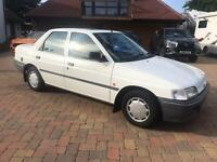 1991 FORD ORION 1.4 LX GENUINE 24,000 MILES SAME OWNER SINCE 1993 VERY ORIGINAL