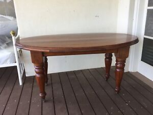 Antique dining table, small and solid