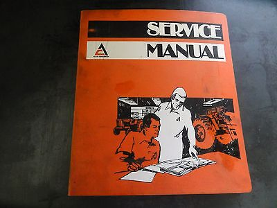 Allis-chalmers Model 540 Wheel Loader Service Manual