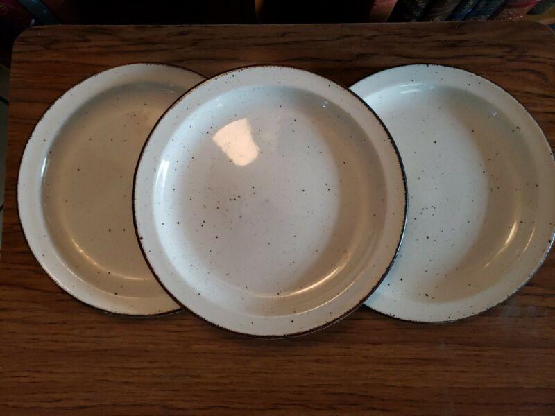 "Set of 2 Midwinter ""Stonehenge"" Speckled  Dinner Plates 10 1/2"""