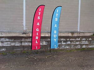 Mobile adver flags , signs/ banners ****