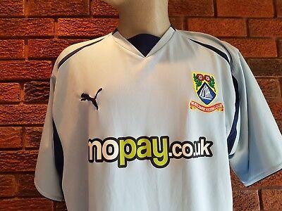 Morecambe FC football shirt 2008. away .Size XXL image