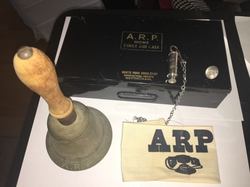 WWII ARP-Air Raid Precautions Lot of Items