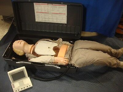 Laerdal Resusci Anne Skillmeter Full Body First Aid Cpr Training Manikin 1