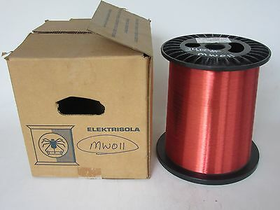 36 Awg 24 Lbs. Elektrisola Pn155 Single Enamel Coated Copper Magnet Wire
