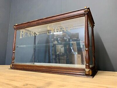 ANTIQUE PEARS' SOAP SHOP DISPLAY CABINET
