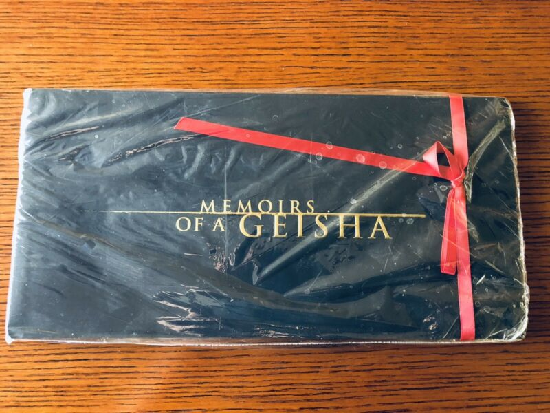 MEMOIRS OF A GEISHA PRESS KIT BOOK NEVER OPENED
