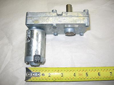 Merkle-korff 24 Volt Dc High Torque Gearmotor- 24 Rpm 12 Shaft For Bally S9000
