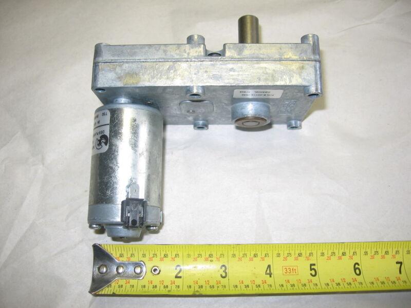"""Merkle-Korff 24 Volt DC High Torque Gearmotor- 24 RPM 1/2"""" Shaft for Bally S9000"""